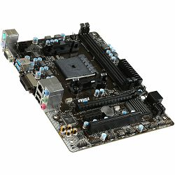 MSI Main Board Desktop AMD A68H (SFM2+,DDR3,SATA III,USB3.0/USB2.0,GLAN,VGA,DVI) mATX Retail