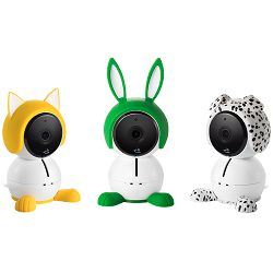 Netgear Arlo Baby accessory characters are a fun to dress up your camera and add a bit of playfulness to your nursery. They have a convenient slip-on, slip-off design