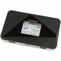 Netgear AirCard 785 Mobile Hotspot, 2G/3G/4G/LTE cat 4/HSPA+/EDGE/GSM, up to 15 devices, Dual Band WiFi 802.11n with two simultaneous SSIDs,Active battery up to 10h, StandbyTime: Up to 300h, Micro SIM