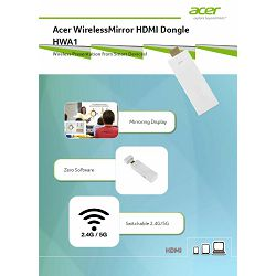 Acer WirelessMirror HDMI Dongle HWA1, MC.JQC11.008