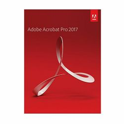 Adobe Acrobat Pro 2017 WIN/MAC IE trajna licenca