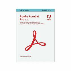 Adobe Acrobat Pro 2020 WIN/MAC IE - Edukacijska trajna licenca