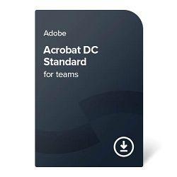 Adobe Acrobat Standard DC for teams - 1-godišnja pretplata