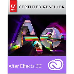 Adobe After Effects CC Creative Cloud, WIN/MAC, 1-godišnja pretplata