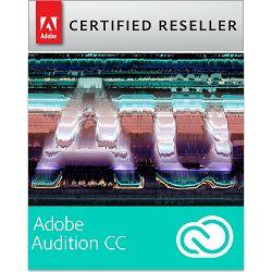 Adobe Audition for teams CC Creative Cloud, WIN/MAC, 1-godišnja pretplata