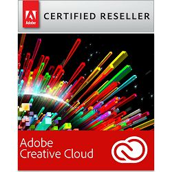 Adobe Creative Cloud All Apps / ex. Creative Cloud for teams, WIN/MAC, 1-godišnja pretplata