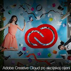 Adobe Creative Cloud All Apps (ex. Creative Cloud for teams COMPLETE) + ADOBE STOCK 1-godišnja pretplata - samo za korisnike CS5 i novijih verzija - AKCIJA!