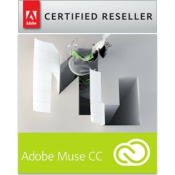 Adobe Muse CC Creative Cloud, WIN/MAC, 1-godišnja pretplata