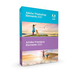 Adobe Photoshop and Premiere Elements 2021 WIN/MAC IE trajna licenca
