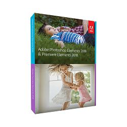 Adobe Photoshop and Premiere Elements 2018 WIN/MAC IE trajna licenca - nadogradnja