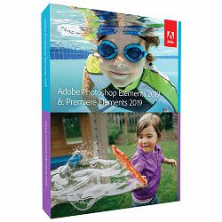 Adobe Photoshop and Premiere Elements 2019 WIN/MAC IE trajna licenca