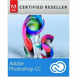 Adobe Photoshop Creative Cloud, Multiple Platforms, EU English, Licensing Subscription, 1 Year - samo za korisnike CS3 i novijih verzija - AKCIJA!