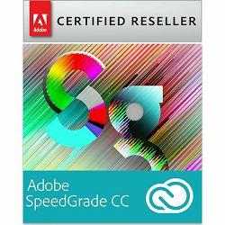 Adobe SpeedGrade Creative Cloud, Multiple Platforms, EU English, Licensing Subscription, 1 Year - samo za korisnike CS5 i novijih verzija - AKCIJA!