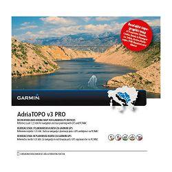 GARMIN AdriaTopo v3 PRO - rutabilna topo karta