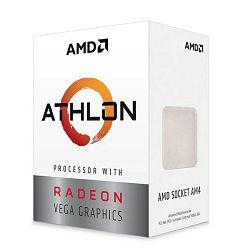 AMD Athlon 3000G, 3.5GHz, 2C/4T, Vega, AM4,35W,box