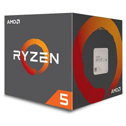 AMD Ryzen 5 1500X, 3,6GHz, 18MB, AM4