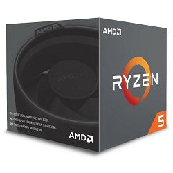AMD Ryzen 5 2600X, 6C/12T 3,6GHz/4,2GHz, 19MB, AM4
