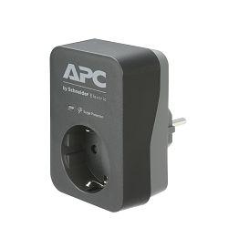 APC Essential SurgeArrest 1 Outlet Black 230V, PME1WB-GR