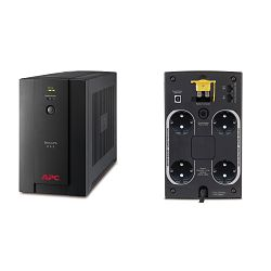 APC Back-UPS 950VA, 230V, AVR, Schuko Sockets, BX950U-GR