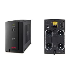 APC Back-UPS 1400VA, 230V, AVR, Schuko Sockets, BX1400U-GR