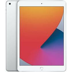 Apple 10.2-inch iPad 8 Cellular 32GB - Silver, mymj2hc/a