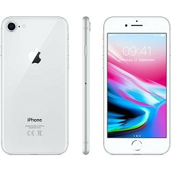 Apple iPhone 8, 64GB, Silver, mq6h2cn/a