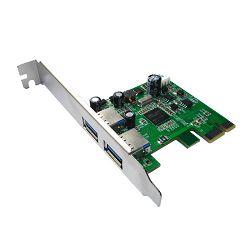 Asonic PCIE Card adapter 2porta USB3.0