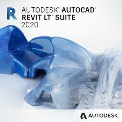 AutoCAD Revit LT Suite 2020 Commercial New Single-user ELD Annual Subscription