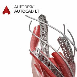 Autodesk AutoCAD LT Commercial New Single-user ELD Annual Subscription
