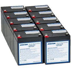 Avacom baterij. kit za renovir. UPS HP Compaq R3