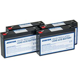 Avacom komplet baterija za APC RBC34, 4 kom.