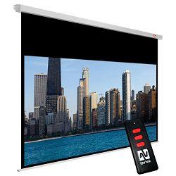 Avtek Cinema Electric 200 (projection area 190x107cm; 16:9; Matt-White; black borders)