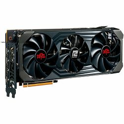 PowerColor Video Card AMD Radeon RX-6700XT Red Devil 12GB 192bit GDDR6, 2622MHz / 16000, PCI-E 4, 3x DP, HDMI, Triple Fan, 2.5 slot