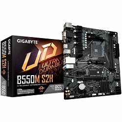Gigabyte B550M S2H , AMD B550, 2xDDR4, VGA/HDMI/DVI, 1xPCIe x16, 2xPCIe x1, 1xM.2, 4xSATA, mATX