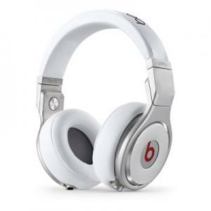 Beats Pro Over-Ear Headphones - White, mh6q2zm/a
