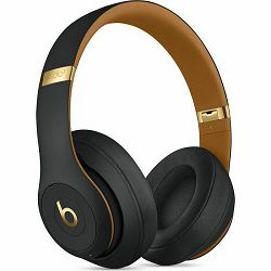 Beats Studio3 Wireless Over-Ear Headphones – Skyline Collection - Midnight Black mtqw2zm/a