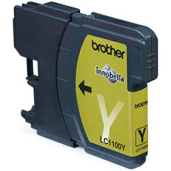 Brother LC1100Y Yellow Ink Cartridge, LC1100Y