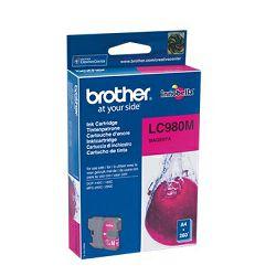 Brother LC980M Spremnik s tintom magenta boje, LC980M