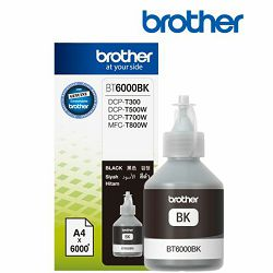 Brother crna tinta u bocici 108,0 ml za A4 x 6000 str, BT6000BK