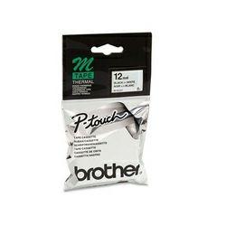 Brother MK231BZ - Traka crna na bijelo - 12mm, MK231BZ