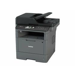 Brother MFC-L5750DW - Multifunction printer - B/W - laser - Legal (216 x 356 mm) (original) - A4/Legal (media) - up to 40 ppm (printing) - 300 sheets - 33.6 Kbps - USB 2.0, LAN, Wi-Fi(n), USB host