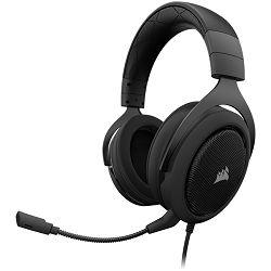 CORSAIR HS60 PRO SURROUND Gaming Headset, Carbon (EU Version)