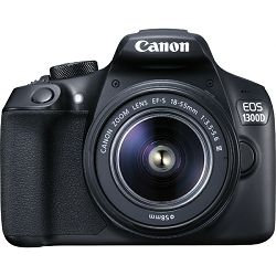 Canon EOS 1300D 18-55mm DC III, 18MP, ISO6400, FullHD