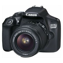 Canon EOS 1300D 18-55 IS, 18MP, ISO6400, FullHD