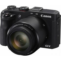 Canon PowerShot PS G3X, 20MP, 25x (24-600mm), 3.2
