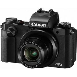 Canon PowerShot PS G5X, 20MP, 4.2x (24-100mm), 3