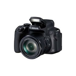 Canon SX70 HS, 20MP, 65x zoom, WiFi, 4k, crni