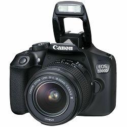 Canon EOS 1300D + 18-55 DC III DSLR digitalni fotoaparat + objektiv 18-55 F3.5-5.6