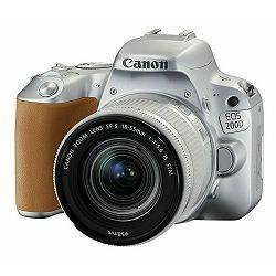 Canon EOS 200D + 18-55 IS STM SL Silver srebreni DSLR Digitalni fotoaparat i standardni zoom objektiv EF-S 18-55mm f/4-5.6