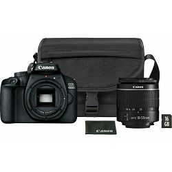 Canon EOS 4000D + 18-55mm DC III, KIT 16GB SD + SB130 torbica, 3011C019AA